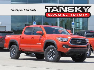 2018 Toyota Tacoma TRD Offroad (Inferno Red)