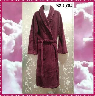 WOMENS PLUM PURPLE ROBE SIZE L/XL