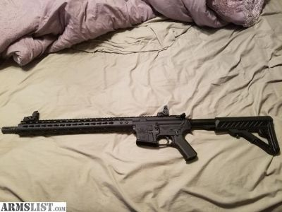 For Sale: Spikes tactical Ar 15 with 15 in keymod upper