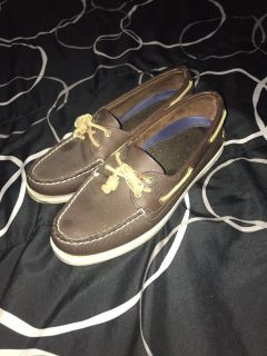Women s Sperry boat shoes size 8 great condition