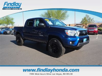 2015 Toyota Tacoma V6 (Blue)