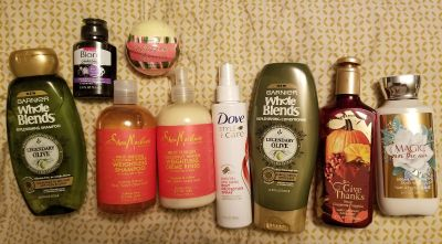 Shampoo and soap lot. ALL NEW,ALL FULL SIZE