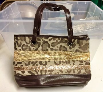 Brown purse by Nine West