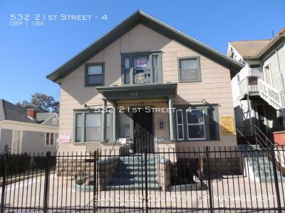 Apartment Rental - 532 21st Street