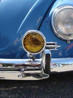 "Find VW H3 HALOGEN 12v 5"" VINTAGE AMBER FOG LIGHTS CHROME BUG BUS KARMANN GHIA TYPE 3 motorcycle in Long Beach, California, United States, for US $65.00"