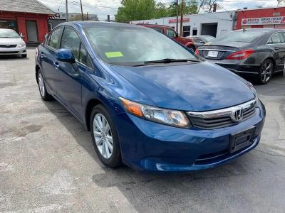 2012 Honda Civic EX (Blue)