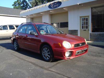 2002 Subaru Impreza 2.5 TS (Sedona Red Pearl)