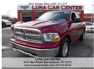 $17,777, 2011 Dodge Ram 1500 Inferno Red Crystal 88000 miles