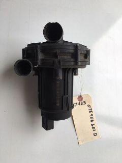 Sell AUDI VOLKSWAGEN SMOG SECONDARY AIR PUMP 078906601D 078 906 601 D motorcycle in Dallastown, Pennsylvania, United States, for US $50.00