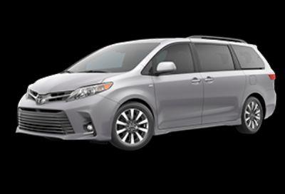 2020 Toyota Sienna XLE Premium (Celestial Silver Metallic)