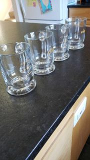 Set of 4 coffee cups