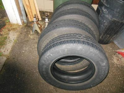 4 Matching Firestone Tires For Toyota Camery