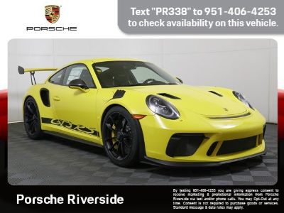 2019 Porsche 911 GT3 RS (RACING YELLOW)