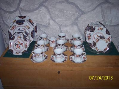 Makasa Fine China   Far East Pattern