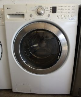 LG 3.8 Frontload Washer in White HE