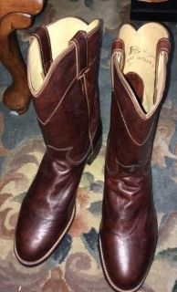 Justin Boots size 8