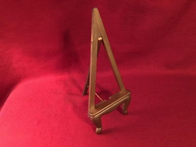 6 x 13 Wood Picture Stand. EUC
