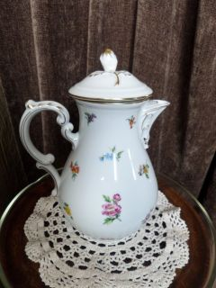 China Teapot Coffee Pot Hutschenreuther Mirabell Collectable