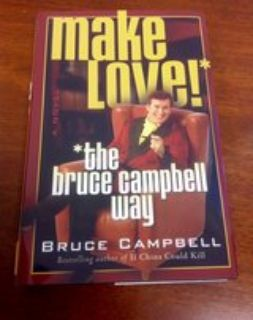 Bruce Campbell hardcover book, like new