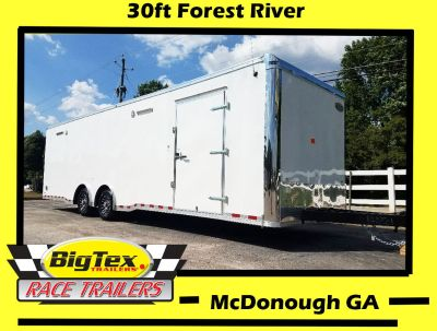 2019 8.5x30 Forest River, Race Trailer, loaded with options,