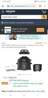 Foodi Ninji Cooker Brand New