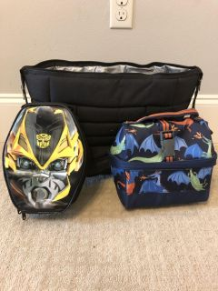 Insulated lunch bags and tote $15