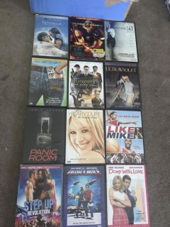 All different movies lot.
