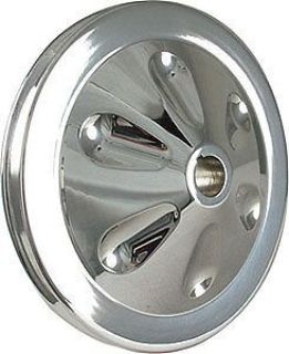 Sell Borgeson 801201 Power Steering Pulley 5-3/4 Diameter Single V-Groove with Keyway motorcycle in Delaware, Ohio, United States, for US $51.97