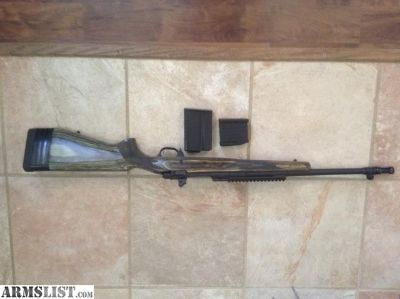 For Sale: Ruger Gunsite Scout 308 w/ ammo and extras