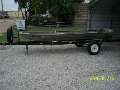 Looking for a 14-16 foot flat bottom boat with trailer. I already have a good motor