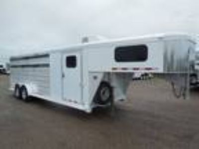 2017 Cimarron Lonestar 24' Roper Special + Air Conditioner 4 horses