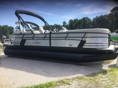2018 SunChaser Geneva 22 LR DH Sport Tritoon Pontoons Boats Lagrange, GA
