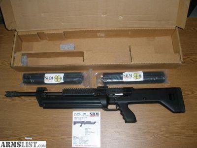 For Sale: SRM Arms Model 1216 Semi-auto 12ga Shotgun