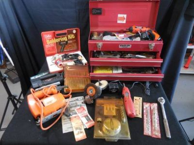Tool Box and Power Tools