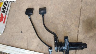 POWDER COATED Pedal Assembly - Better than New!