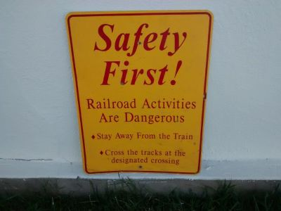 Railroad Memorabilia Signage