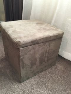 Footstool/storage container