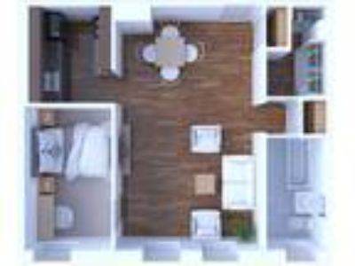 The Versailles Apartments - One BR Floor Plan A6