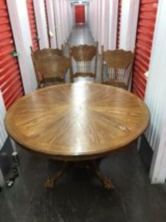 4 chair dining set with table
