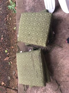 6 outdoor seat cushions