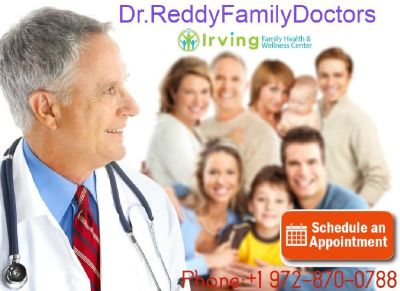 Best Family Medicine in Irving TX - Dr. Reddy Family Doctors Clinic