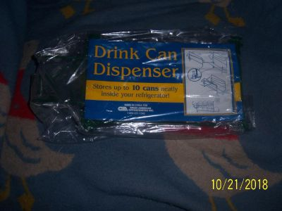 Drink can dispenser never used