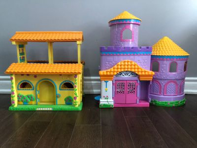 Both 2 big doll houses must go!