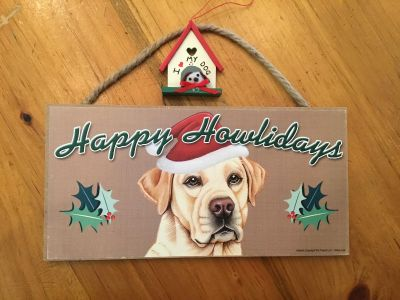 CHRISTMAS DECORATION FOR DOG LOVERS!