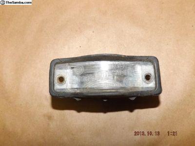 Porsche 914 License Plate Light Assembly