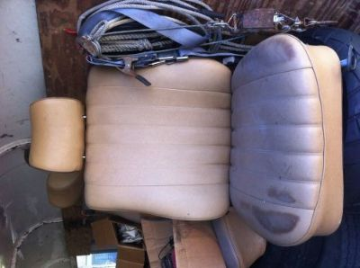 Sell w123 mercedes front seats 1977-1985 motorcycle in Homestead, Florida, United States, for US $500.00