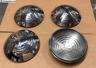 Hubcap Hub Cap KdF Style! Chromed New Production!