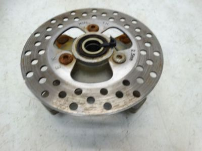 Purchase 2005 Honda TRX400EX ATV Front Left or Right Wheel Hub w/ Rotor Disc motorcycle in West Springfield, Massachusetts, United States, for US $23.99