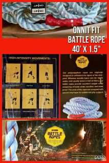 ONNIT FIT BATTLE ROPE