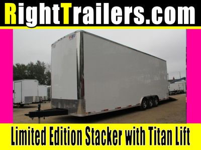 30ft Deluxe Stacker - Qualifier Package w/ Lift